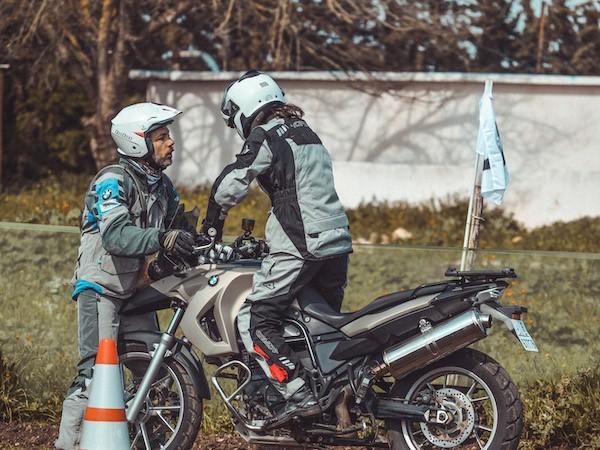 BMW Motorrad off-road motorbike training