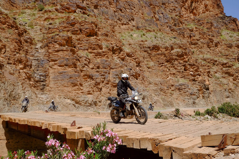 Atlas off-road adventure motorcycle tour in morocco