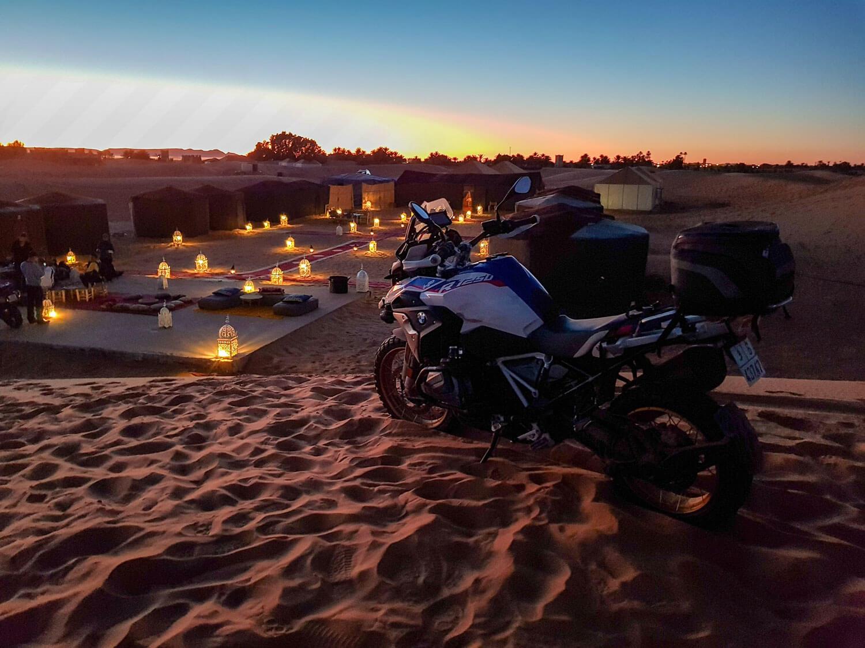 Atlas and Desert adventure motorbike tour morocco
