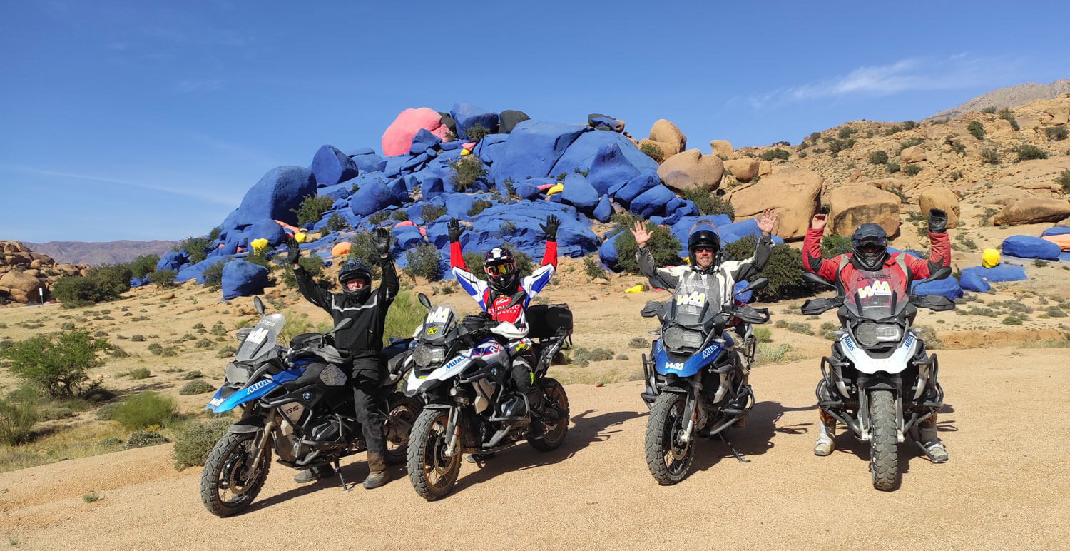 Morocco Challenging Roads off road guided motorbike tour