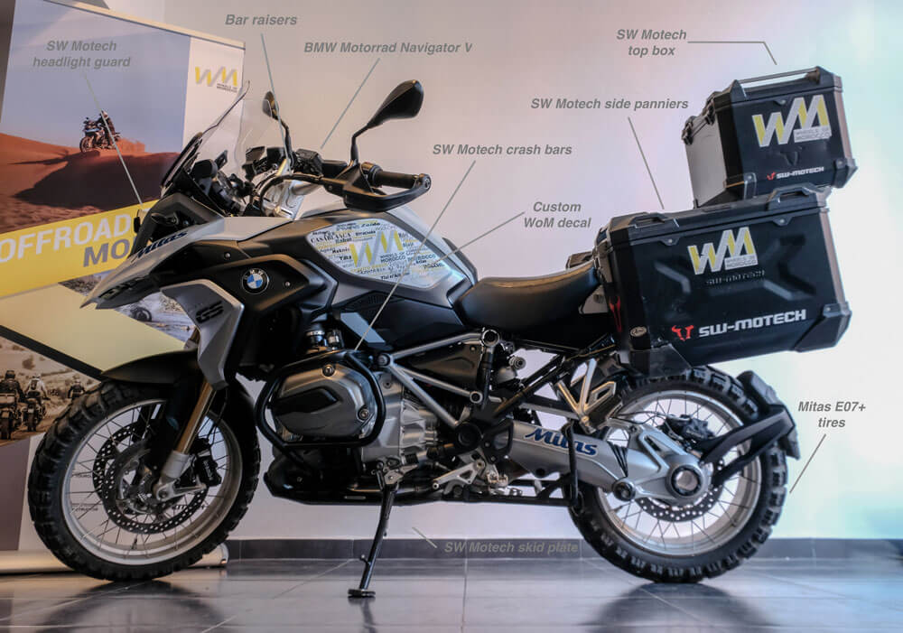 rent BMW R1200GS bmw motorcycle rental in Morocco