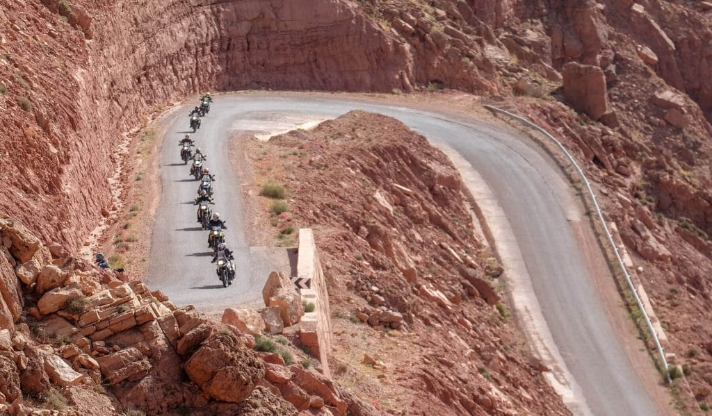 Guided Motorcycle Tours in Morocco from wheels of morocco